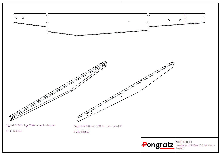 verz. Zuggabel links L-AT 400