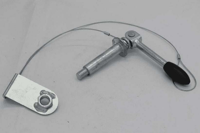 Locking pins for drawbar PFA 185 U