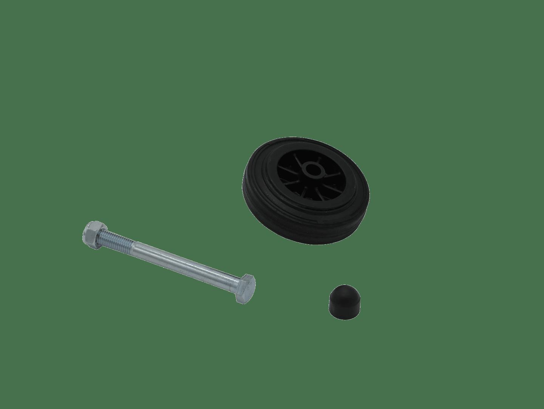 Rear-side plastic wheel PFA 185 U