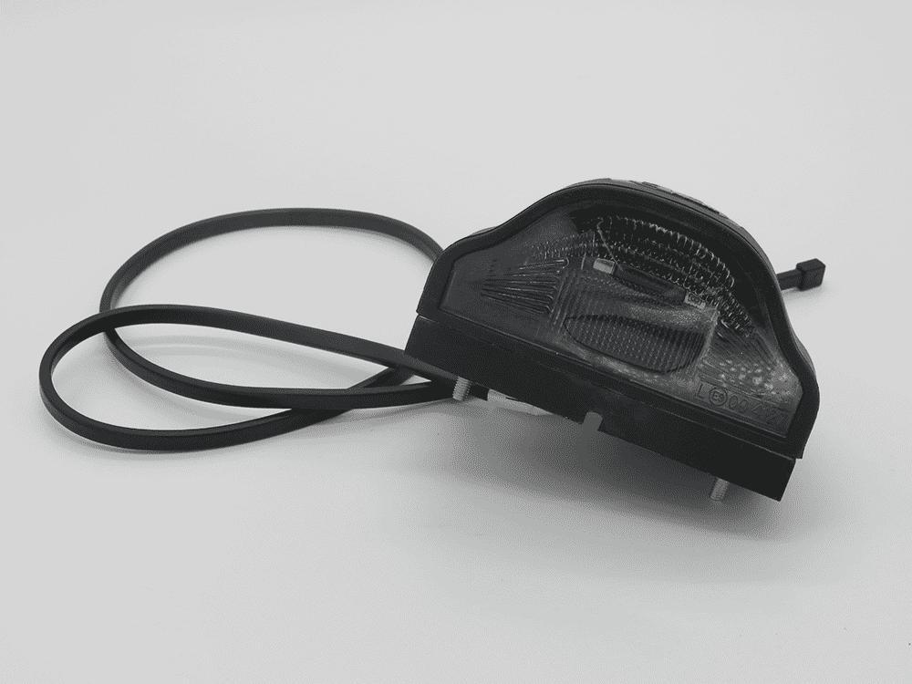 Kennzeichenleuchte Regpoint groß mit Kabel