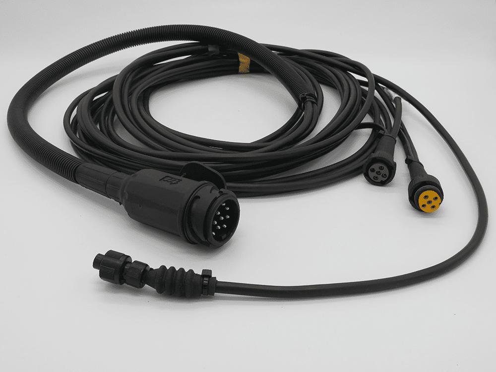 Kabelsatz 6m/13pol./Baj/m. Abg mit Ladefunktion für RK und 3-SKS mit Kombipumpe