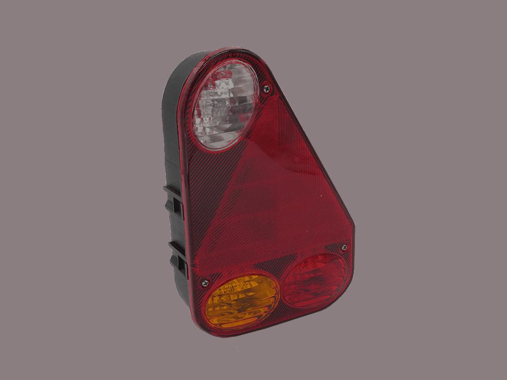 Leuchte Earpoint III rechts mit Rückfahrscheinwerfer und Bajonettanschluss