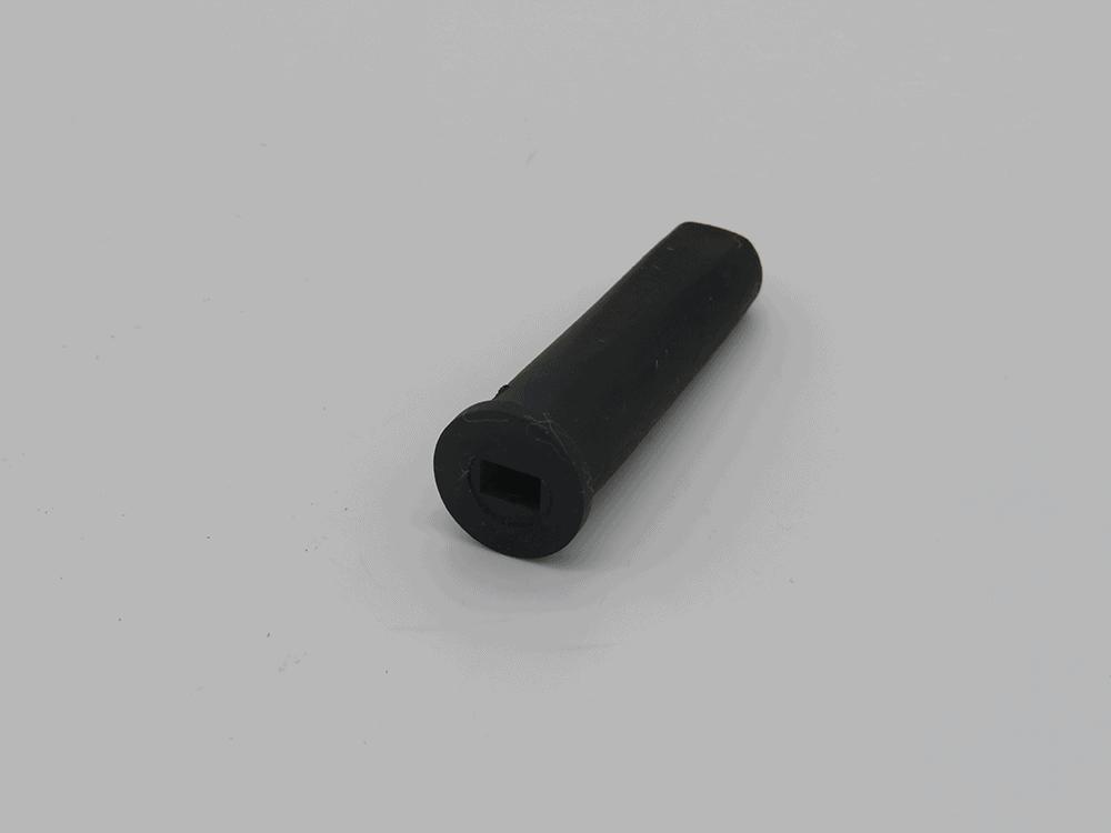 Endkappe für 2adriges Kabel rechteckig