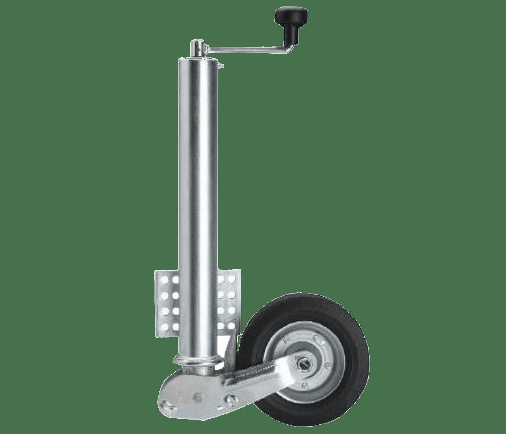 Automatik Stützrad mit Befestigungsflansch bis 3000 kg