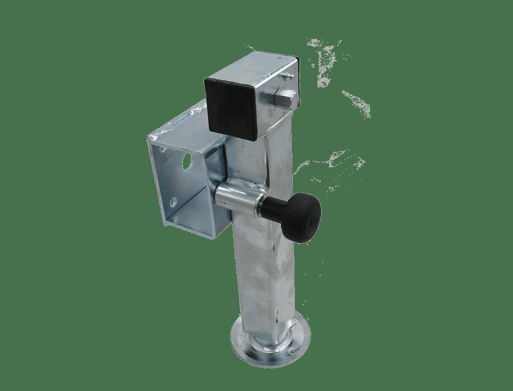 Teleskopkurbelstütze 280 mm mit Flansch u.
