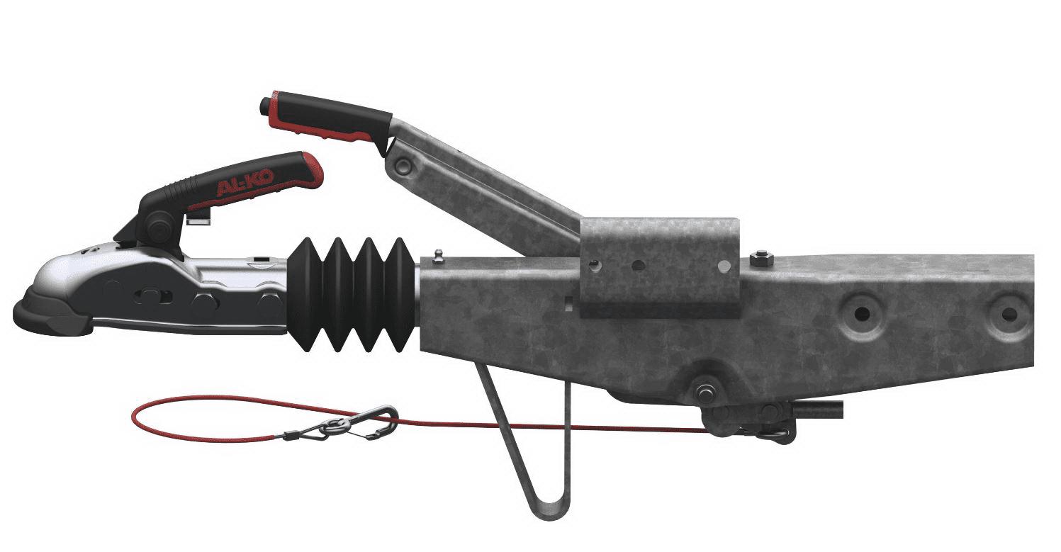 Auflaufeinrichtung mit Vierkantanschluss 70mm