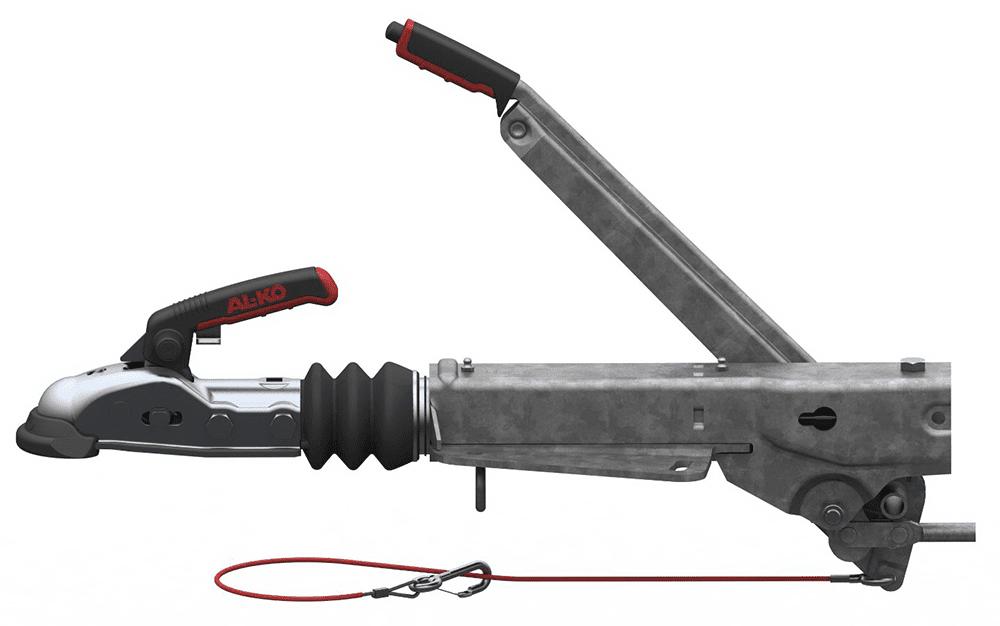 Auflaufeinrichtung mit V-Anschluss 161S Unteneinbau