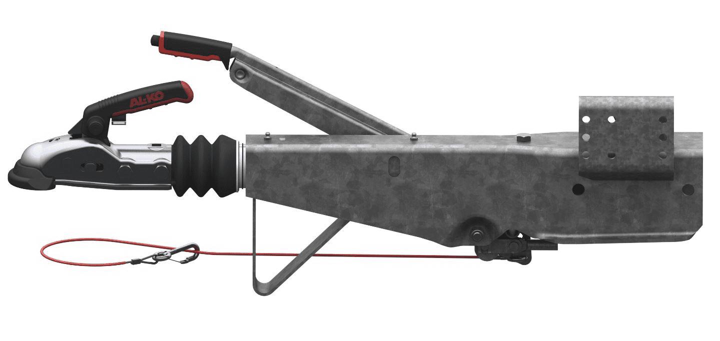 Auflaufeinrichtung mit Vierkantanschluss 100mm