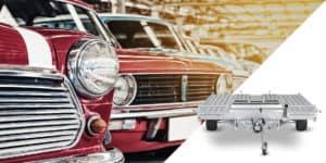Der richtige Anhänger für den Autotransport - Pongratz Autoanhänger