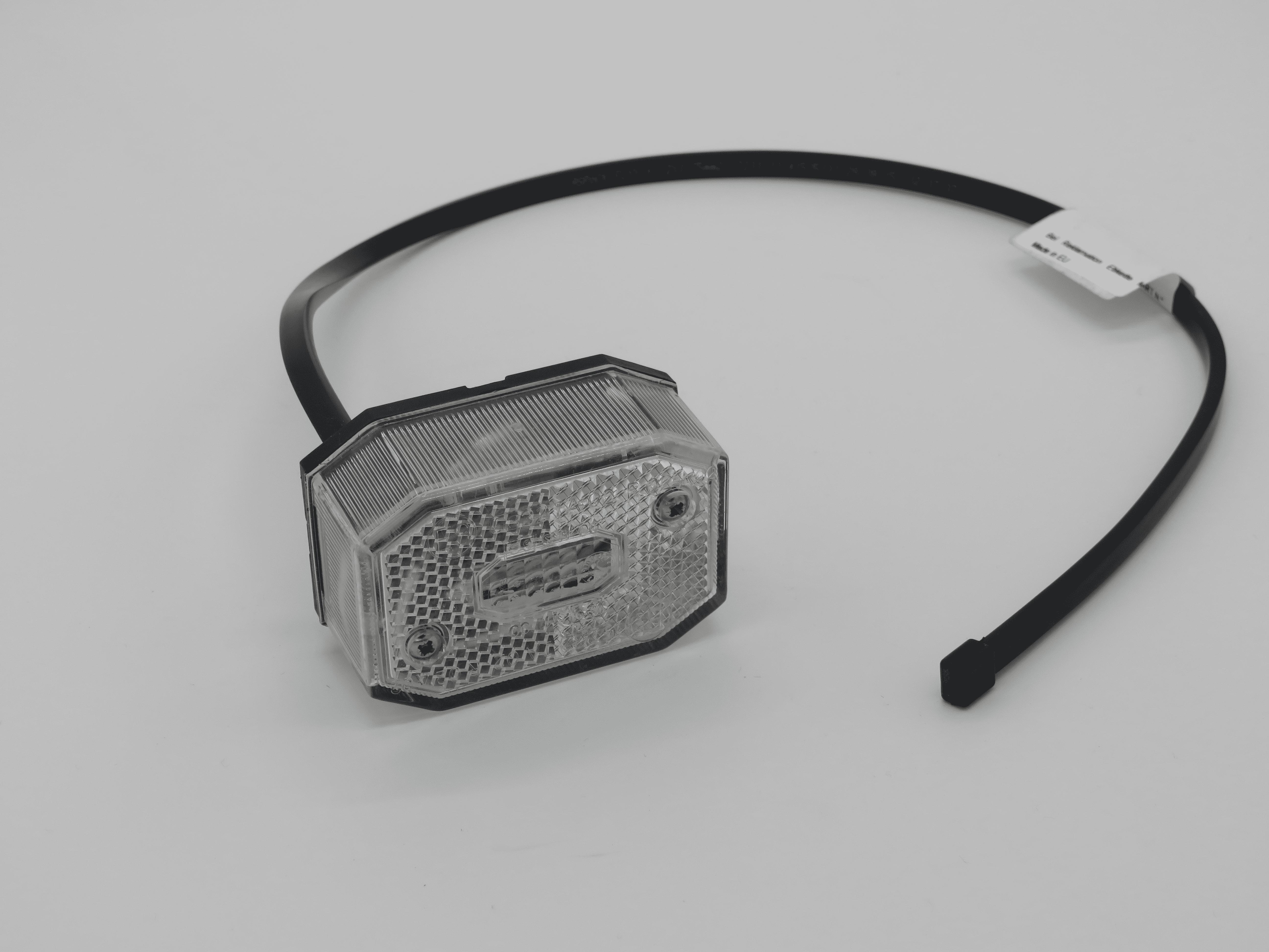 Begrenzungsleuchte Flexipoint I weiss mit Kabel